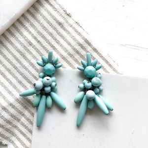 SUGARFIX by BaubleBar Blue Beaded Earrings